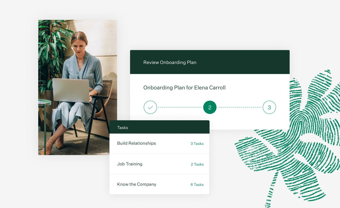Greenhouse Onboarding Plan feature