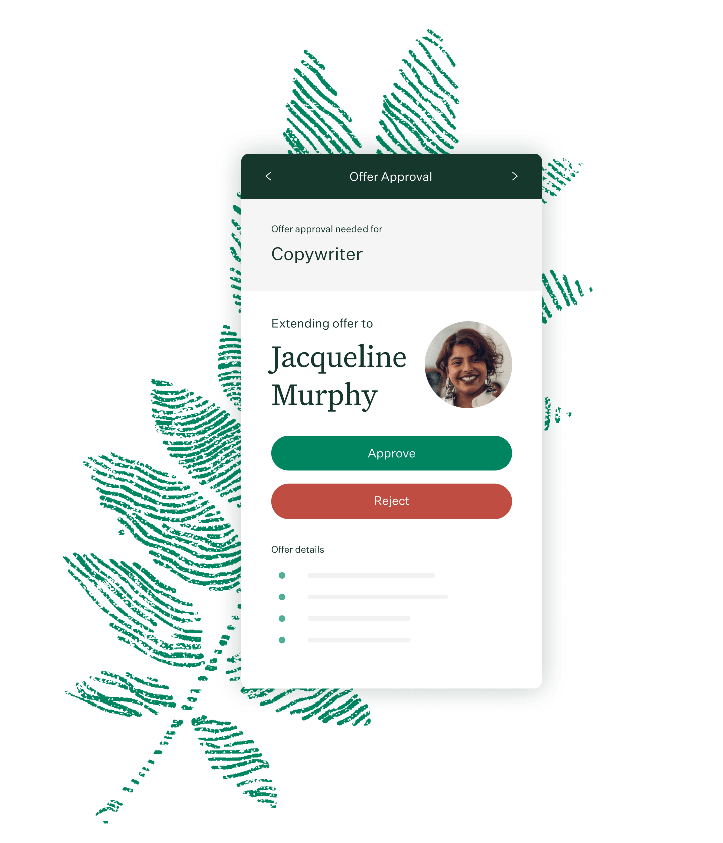 Greenhouse Recruiting mobile app