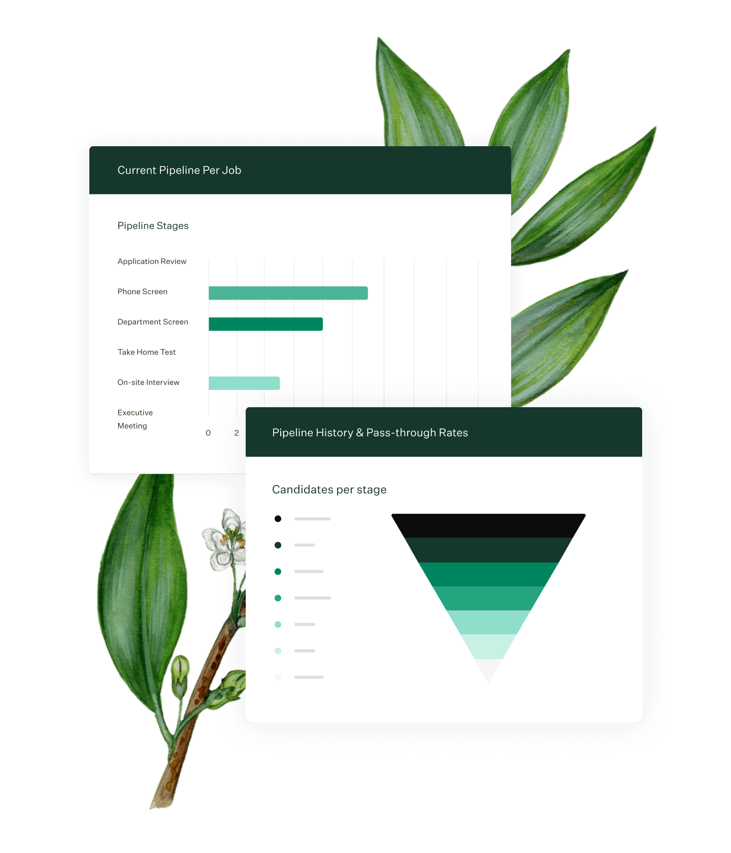 Greenhouse Recruiting pre-built reports