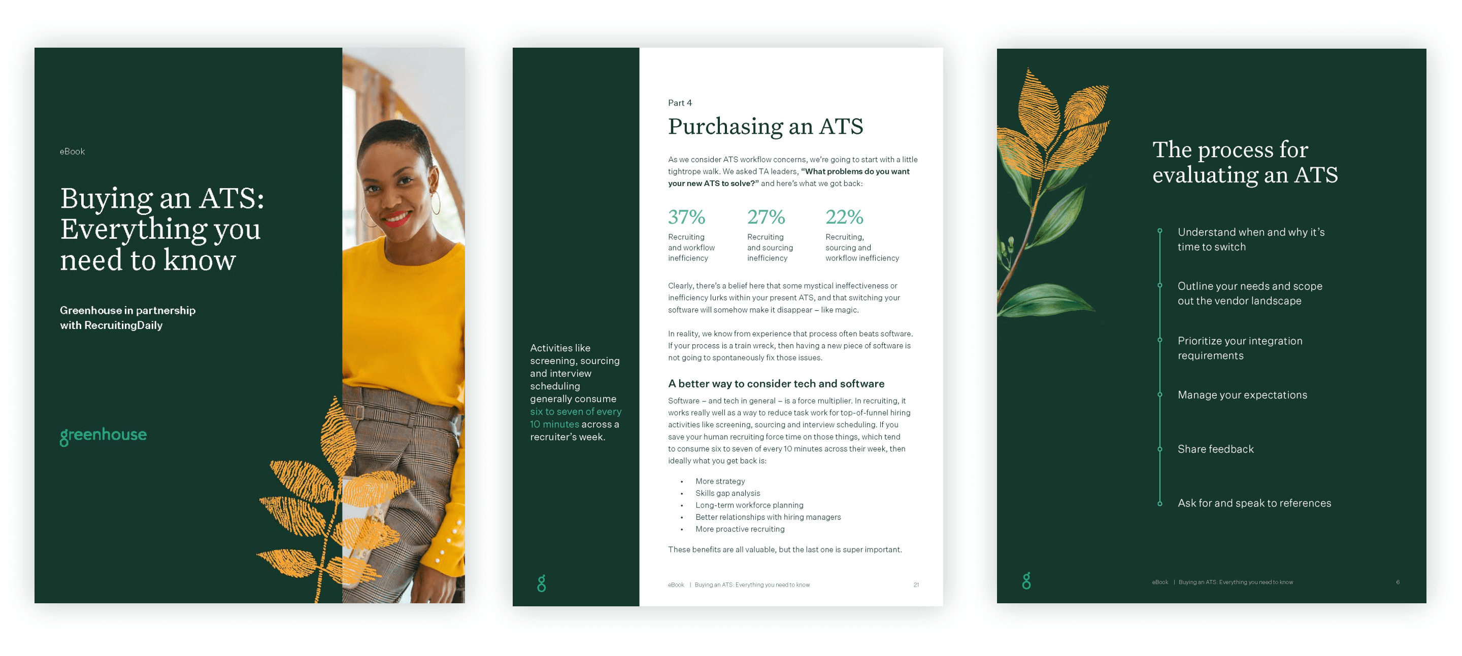 Example pages of Buying an ATS: Everything you need to know