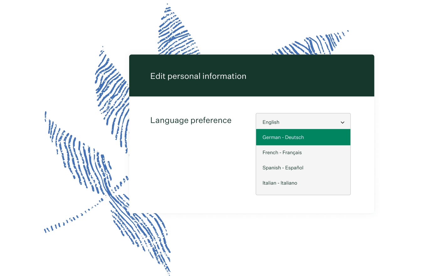 Greenhouse Recruiting language selector