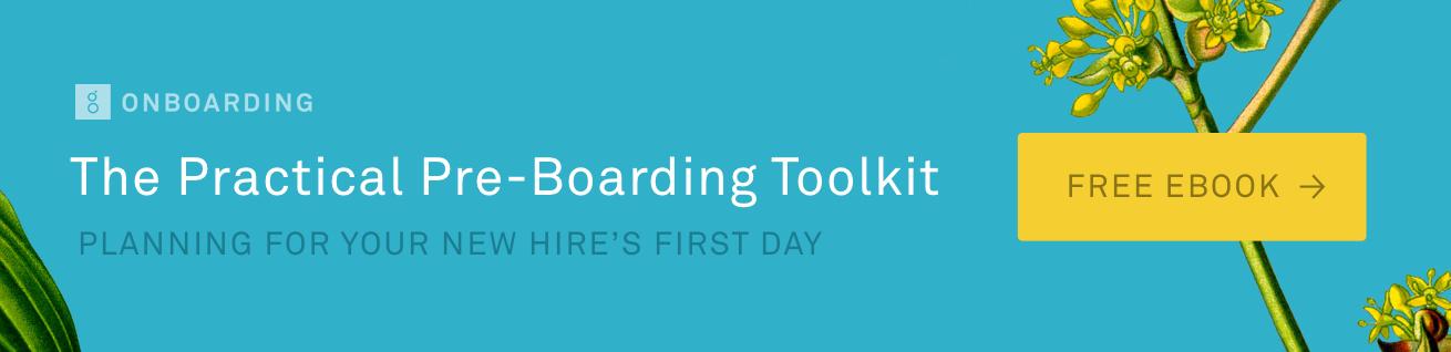 The Practical Pre-Boarding Toolkit