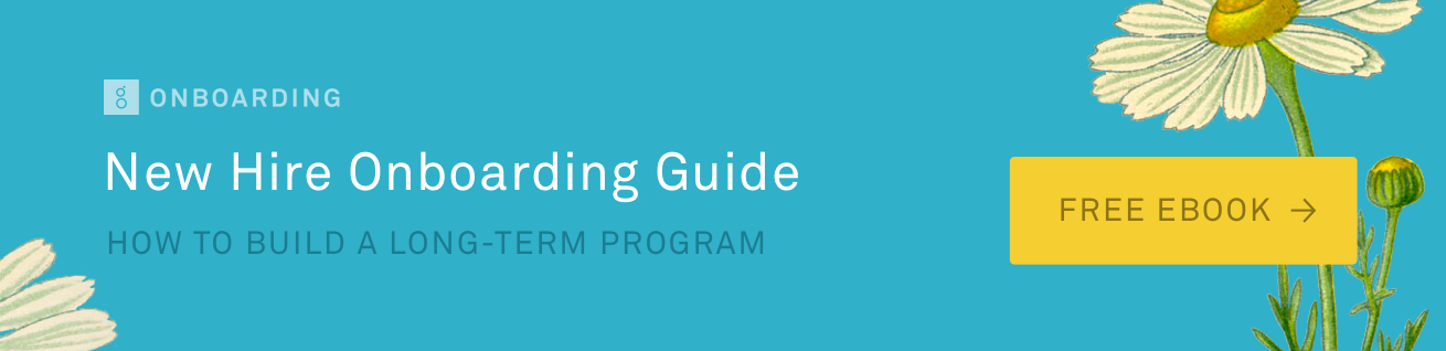 New Hire Onboarding Guide CTA