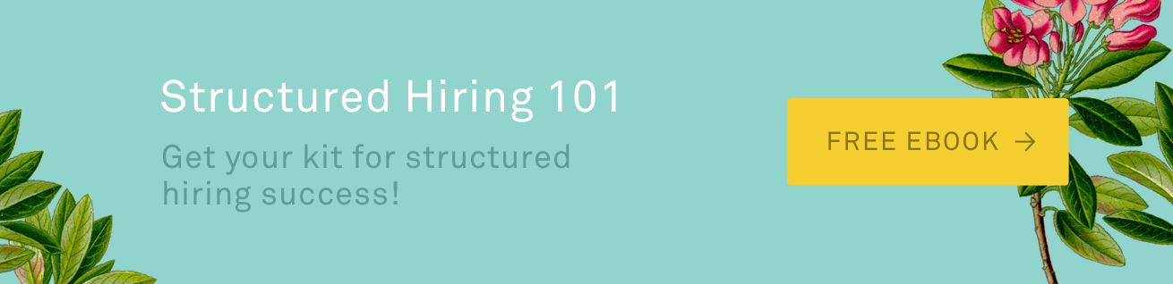 Structured Hiring 101 eBook