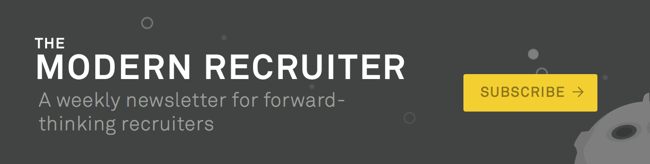 Modern Recruiter Newsletter