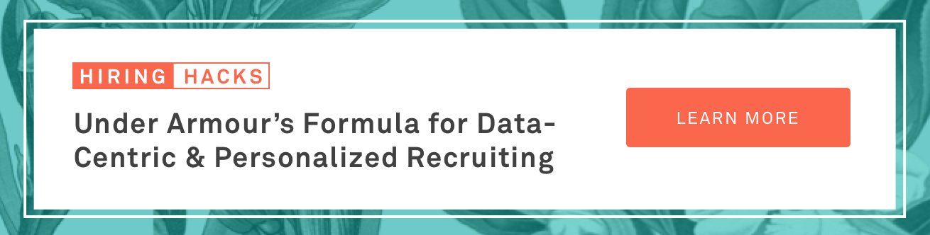 Data Centric and Personalized Recruiting