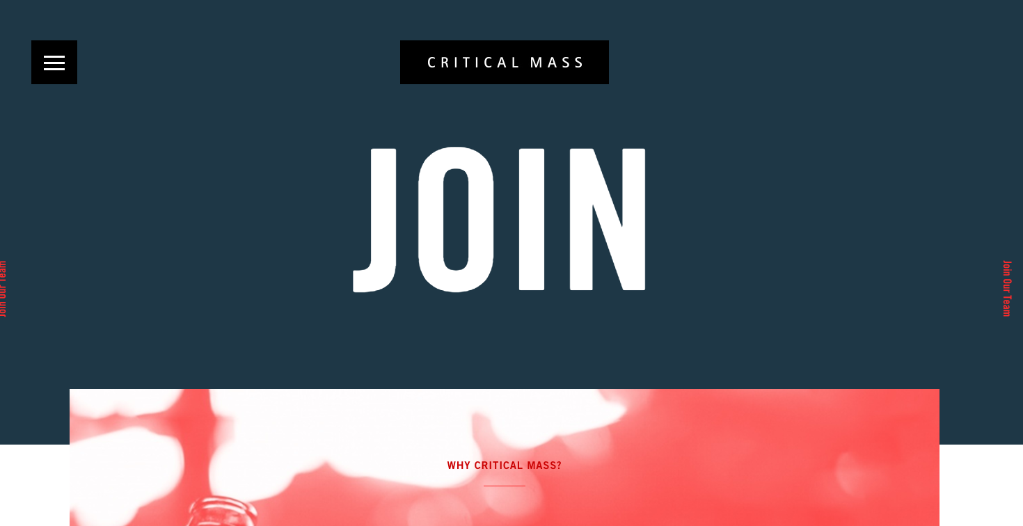 critical mass career page