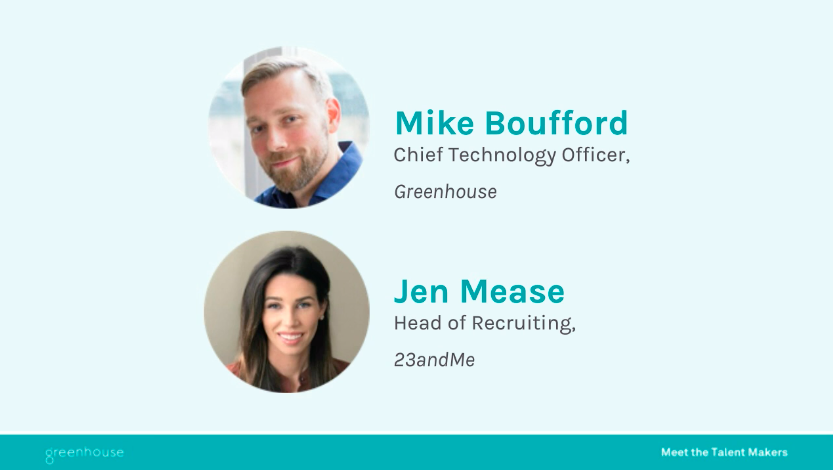 Speakers from the Implementing HR Technology & Structure at a Time of Scale webinar