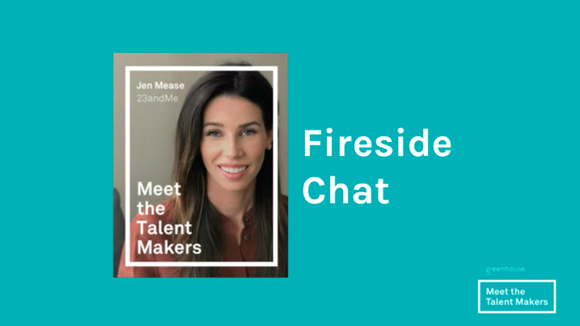 Jen Mease, Head of Recruiting at 23andMe