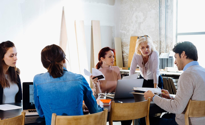 Hiring team planning meeting