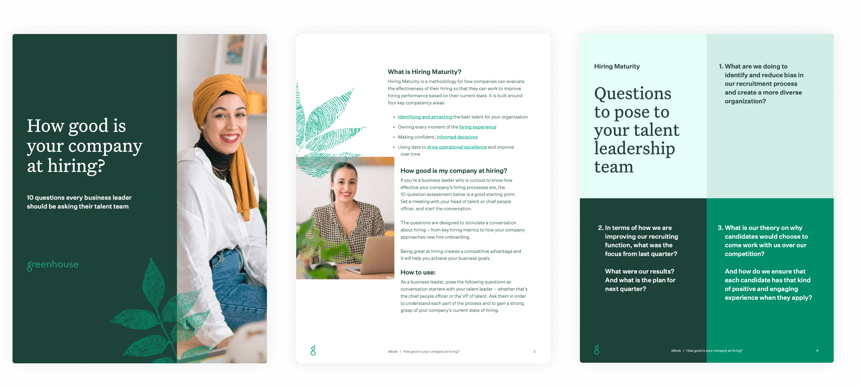 Sample pages of How good is your company at hiring?