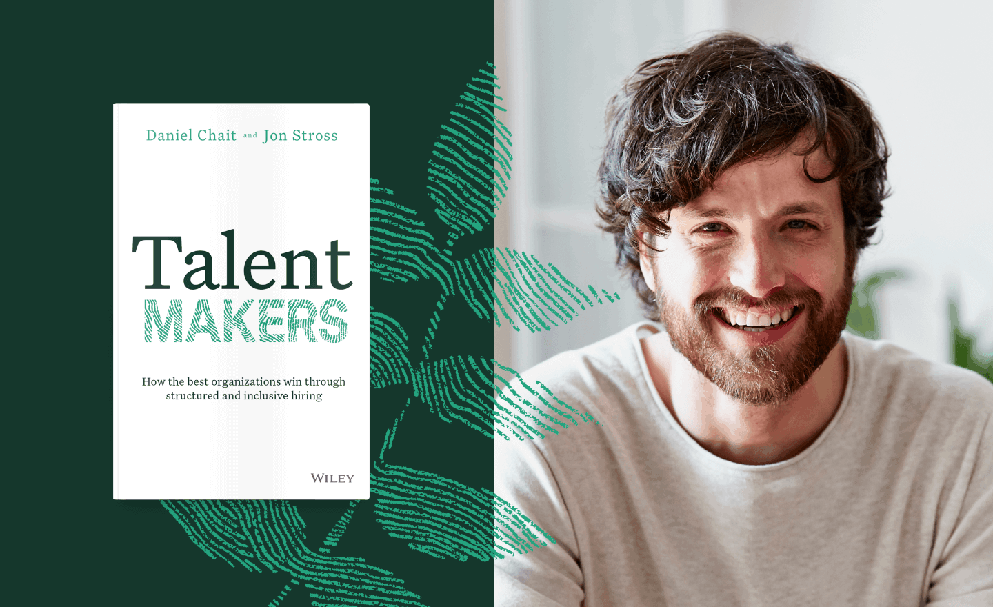 Talent Makers book cover with portraits of people
