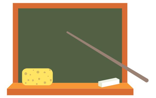 Blackboard pointer stick