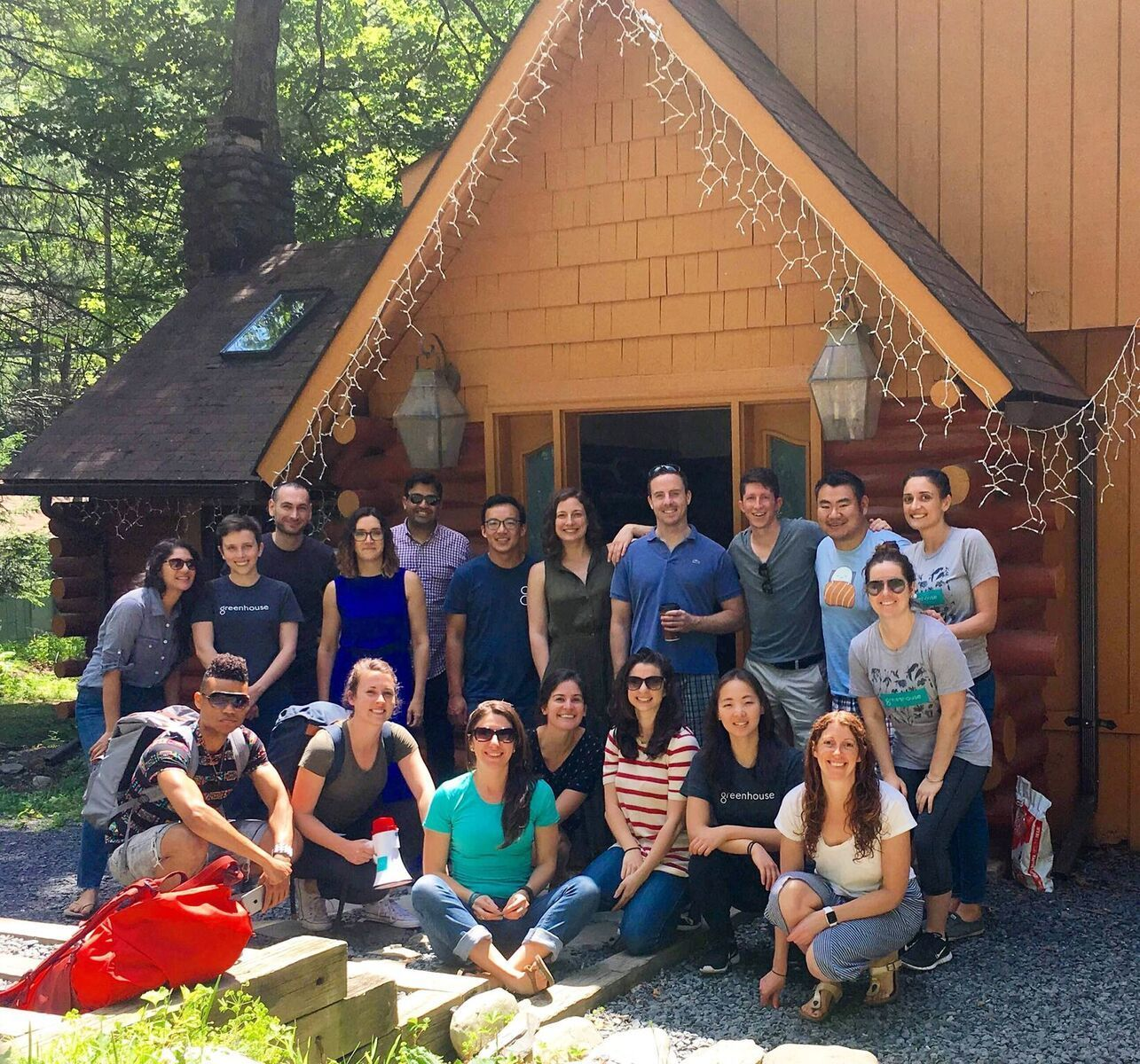 Greenhouse offsite employee experience